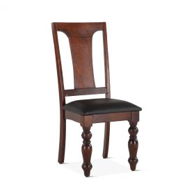 Colonial Plantation Upholstered Dining Chair Colonial Light