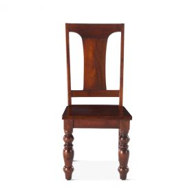 """Colonial Plantation Dining Chair 18"""" Light"""