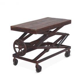 """French Market Adjusting Side Table 36"""""""
