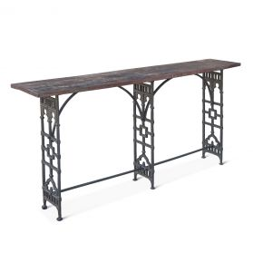 """French Market 62"""" Console"""