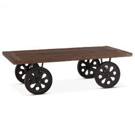 "Industrial Loft Coffee Table 64"""