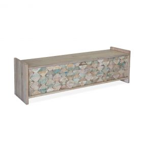 "Ibiza 60"" Reclaimed Wood Storage Bench"