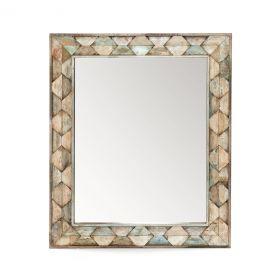 Ibiza Reclaimed Wood Mirror