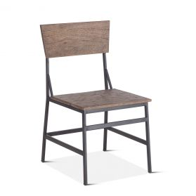 Laguna Beach Dining Chair Weathered Teak