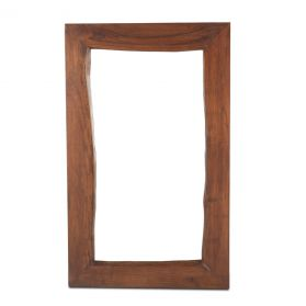 London Loft Mirror  Walnut 58""