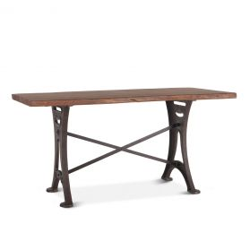 "Organic Forge Gathering Table 72"" Raw Walnut"