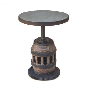 "Old Mill 16"" Adjustable Round Table"