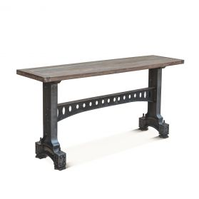 "Old Mill 66"" Reclaimed Wood Console Table"