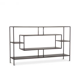 "Parson 66"" Utilitarian Buffet Antique Zinc"
