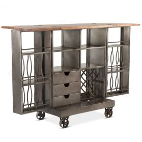 Pittsburg Iron Bar Cabinet