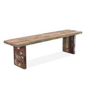 "Rio 62"" Carved Teak Wood Bench"