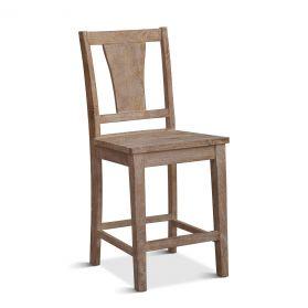Solana Beach Counter Chair whitewash