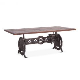 Steampunk Dining Table 84""