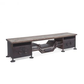 Steampunk Low Sideboard 74""