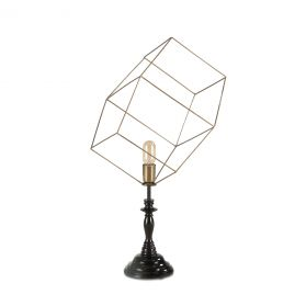 Tesla Abstract Table Lamp