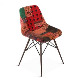 Cathy Patchwork Dining Chair