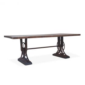 "Whitley 84"" Reclaimed Wood Dining Table"