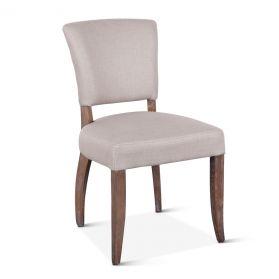 Mindy Side Chair Beige Linen
