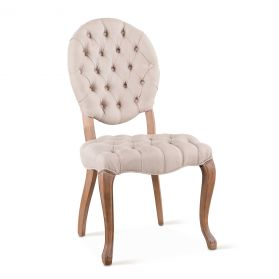 Penelope Dining Chair with Linen Back