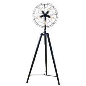 Luminaire Antique Fan Head Floor Lamp