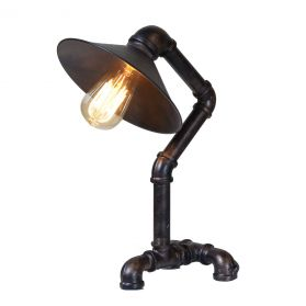 Luminaire Industrial Pipe Table Lamp