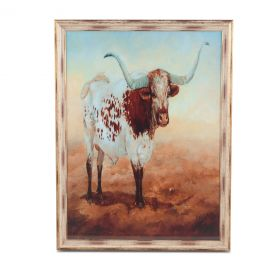 Peinture Longhorn Art Photo