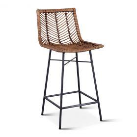 Kubu Counter Chair Jawit Honey Brown