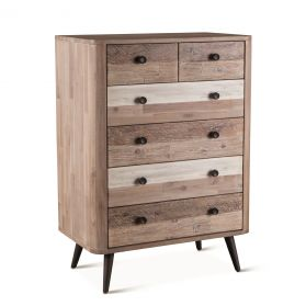 "Boardwalk 32"" Wide Tall Chest Natural"