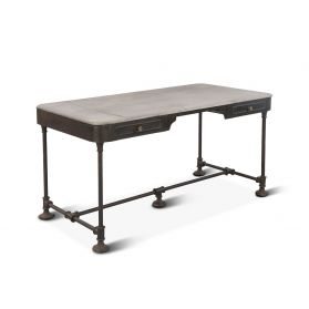 "Bowery 58"" Desk with Marble Top"