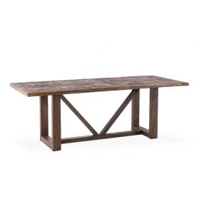 "Charleston 84"" Dining Table Old Barn"