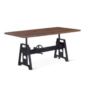 Industrial Modern Adjusting Office Desk 62""