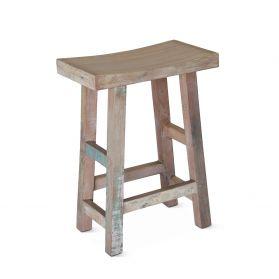 Ibiza Reclaimed Wood Counter Stool