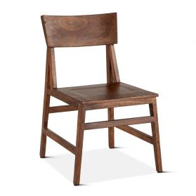 London Loft Dining Chair Walnut