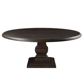 "Nimes 60"" Round Dining Table Vintage Java"