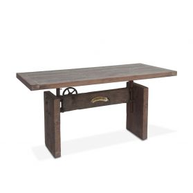 "Old Mill 63"" Reclaimed Wood Office Desk"