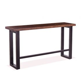 "Paso Robles 70"" Sofa Back Console Table Tawny Brown"