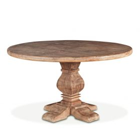 "San Rafael 48"" Round Dining Table Antique Oak"