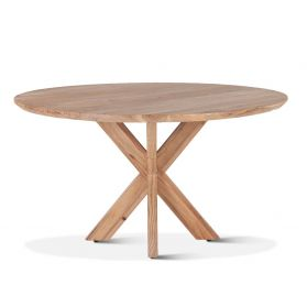 "Tallinn 54"" Round Dining Table Natural"