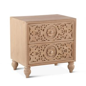"Taj 24"" Night Chest Whitewash"