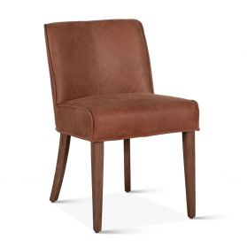 Buddy Side Chair Tan Leather