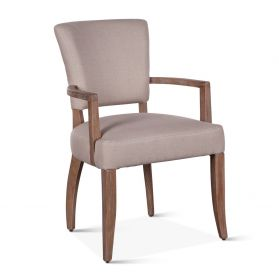 Mindy Arm Chair Beige Linen