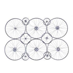 Peloton Gray 6 Wheel Wall Panel